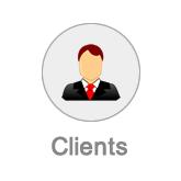 Clients button