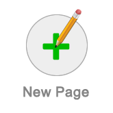 New page button
