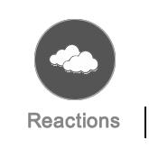 Reactions management button