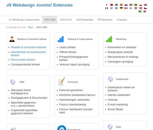 Componenten Joomla 3 CMS