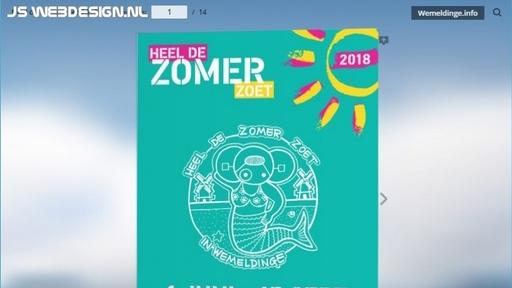 Zomerprogramma2018